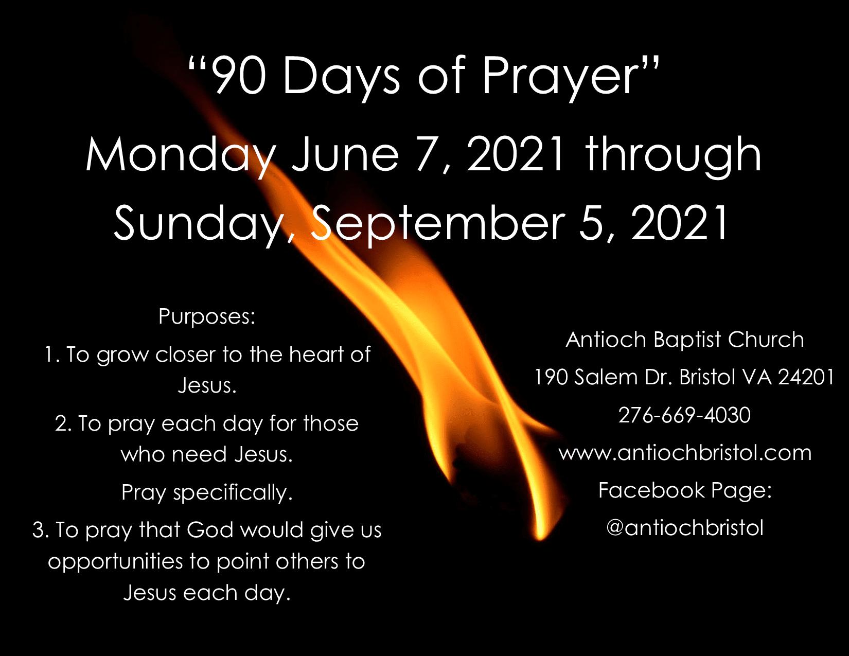 90DaysofPrayer2021-06-07